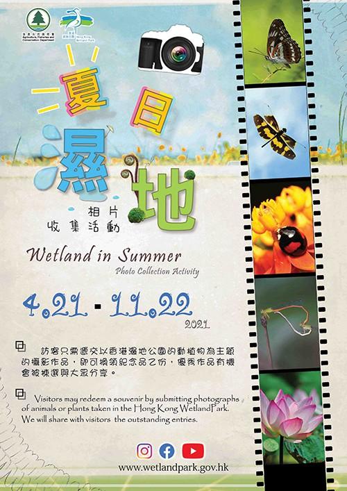 「夏日濕地」相片收集活動